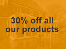 30% of all of our double glazing products