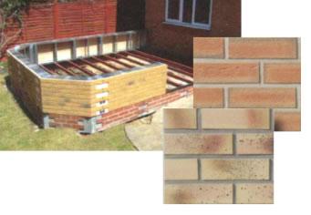 Durabase brick conservatory base