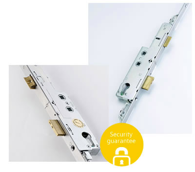 Security lock for doors
