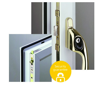 Security lock for windows
