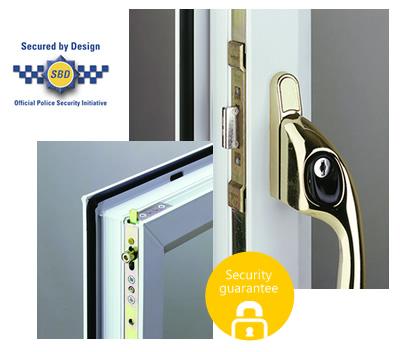Security lock for windows