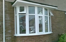 White bay window