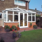 Edwardian upvc conservatory