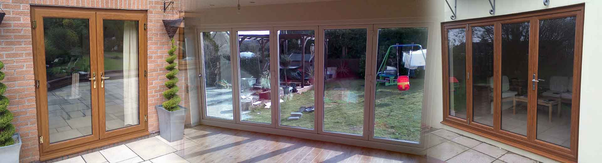 Bifold and patio doors