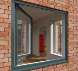 tilt and turn window- eurocell