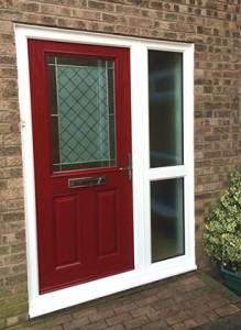 red-composite-door