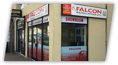The Falcon Talbot Green showroom