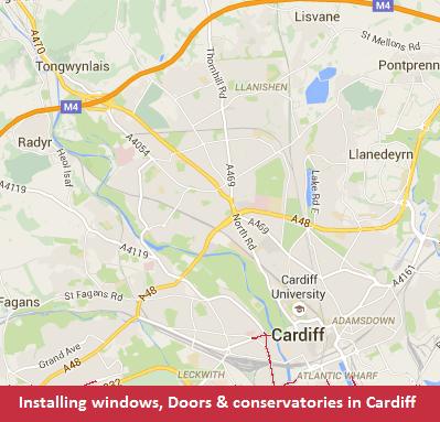 falcon cardiff map