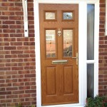 Golden Oak door installation