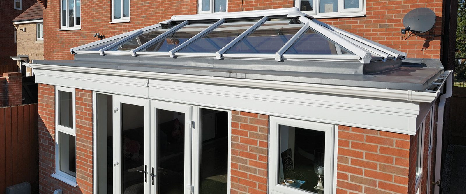 uPVC Orangery and lantern roof