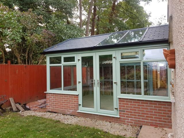 Mr Palfrery - new conservatory