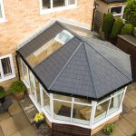 ultraroof conservatory roof above