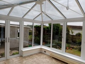 After Cowbridge conservatory replacement Mrs Howell