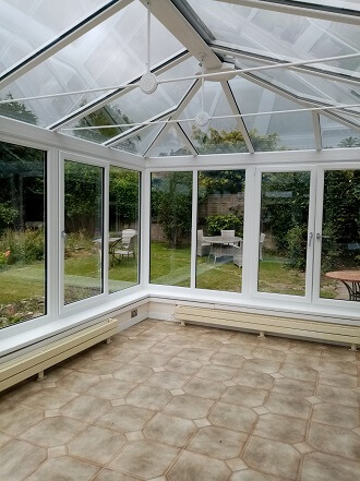 Mrs Howell - replacement conservatory