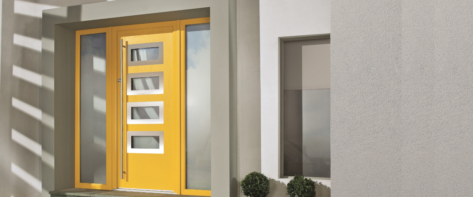 Yellow apeer composite door
