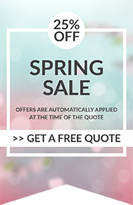 Spring Offer - 25% off everything