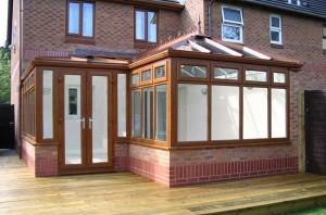 light oak conservatory