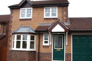coloured UPVC roofline products