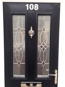 Composite Front Door Detail