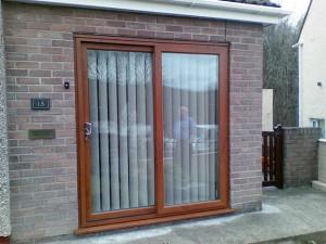 Light Oak Patio Door
