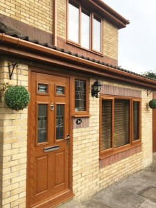 Timber Effect Doors and Windows