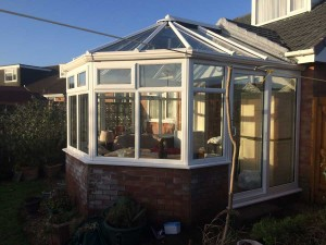 Conservatory-installation-with-patio-doors