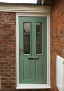 Falcon - Green Composite Door
